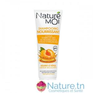NATURE MOI SHAMPOOING NOURRISSANT – Cheveux secs & abîmés 250ML