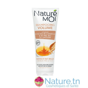 NATURE MOI SHAMPOOING VOLUME – Cheveux fins & plats 250ML