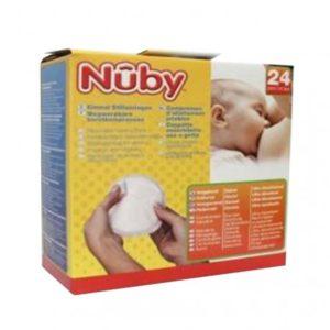 Nuby coussinet d'allaitement 24 pièces