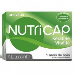 Nutricap kératine & vitalité 30 capsules
