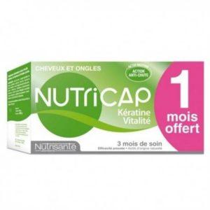 NUTRICAP KERATINE VITALITE B/90 + 1 MOIS OFFERT