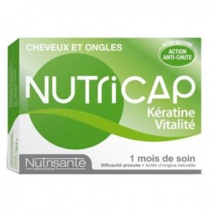 NUTRICAP KERATINE VITALITE BOITE DE 30