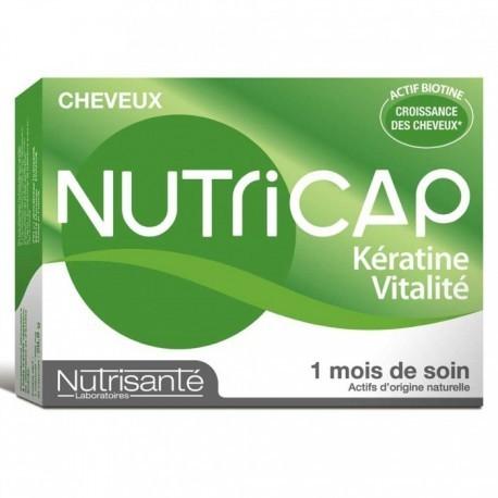Nutricap kératine & vitalité 30 capsules 3