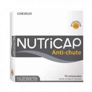 NUTRICAP SERUM ANTI-CHUTE CHEVEUX 10 AMPOULES