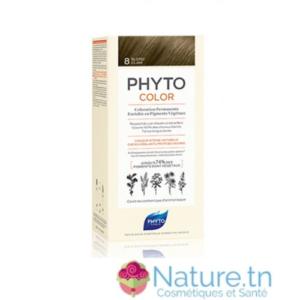 PHYTOCOLOR – COULEUR 8 Blond Clair