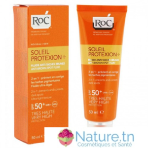 ROC SOLAIRE IP50+ FLUIDE ANTI-TACHES 50ML
