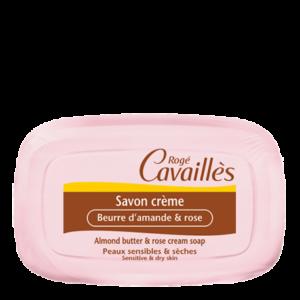 Rogé Cavaillès -Savon crème amande et rose