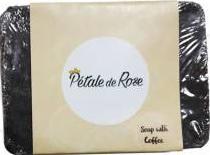 Pétale de Rose Savon artisanal à l'huile d'olive pure et l'extraits de café pour tous types de peau (80g)