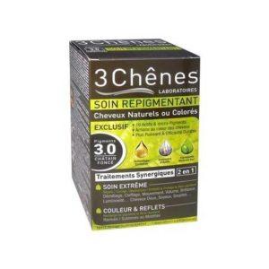 SHAMPOING COLORANT BIO Châtain foncé3.0 DE 3 CHÊNES