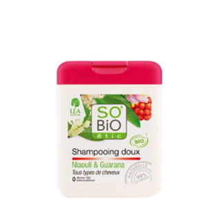 So'bio Shampoing doux Niaouli & Guarana
