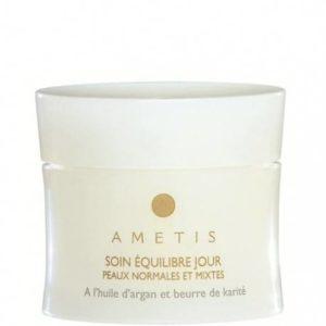 Soin Equilibre Jour à l'huile d'argan et beurre de karité AMETIS Peaux normales et mixtes (50 ml)