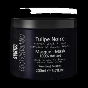 Startec masque tulipe noire