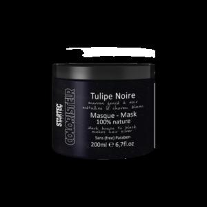 Startec Paris Masque colorant noir – Tulipe Noire 200ml