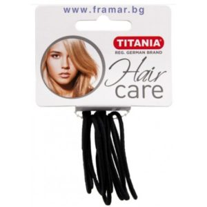 Titania 6 élastiques noirs