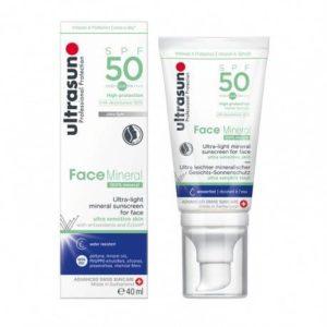 ULTRASUN FACE MINERAL SOIN SOLAIRE MINÉRAL SPF50+