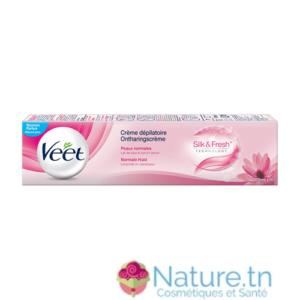 VEET Crème Dépilatoire Veet Peaux Normales Silk & Fresh 100ML