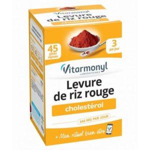 Vitarmonyl LEVURE DE RIZ ROUGE – BOITE 45CP