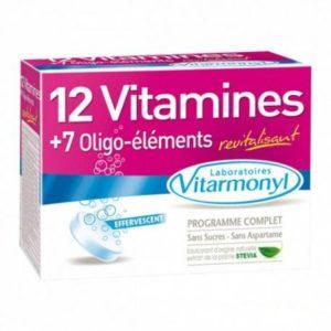 Vitarmonyl MULTIVITAMINES – 12 VITAMINES + 7 OLIGO-ELEMENTS