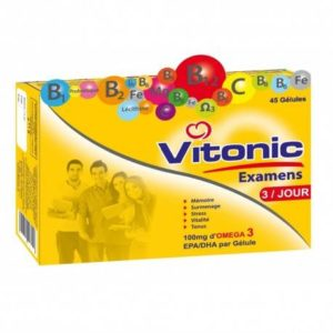 VITONIC EXAMENS – 45 Gélules