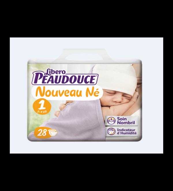 Couche Peaudouce Libero Nouveau Né T 1 3