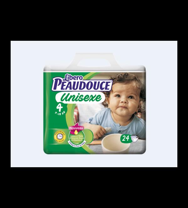 Couche Peaudouce Unisexe T 4 3