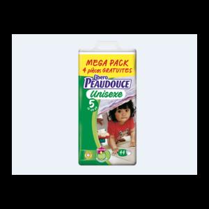 Couche Peaudouce Mega Pack Jumbo Unisexe T 5
