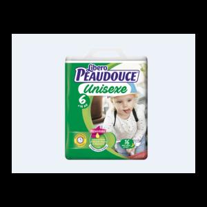 Couche Peaudouce Unisexe T 6