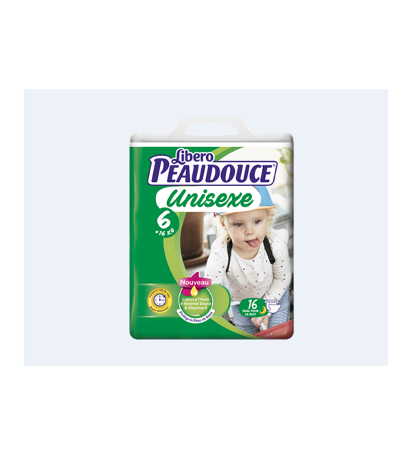 Couche Peaudouce Unisexe T 6 3
