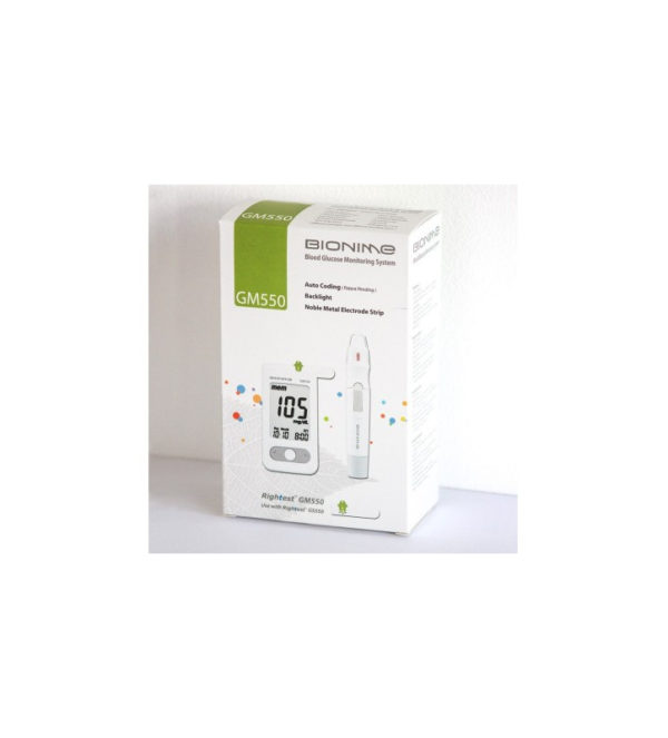 Glucomètre Bionime GM550 3