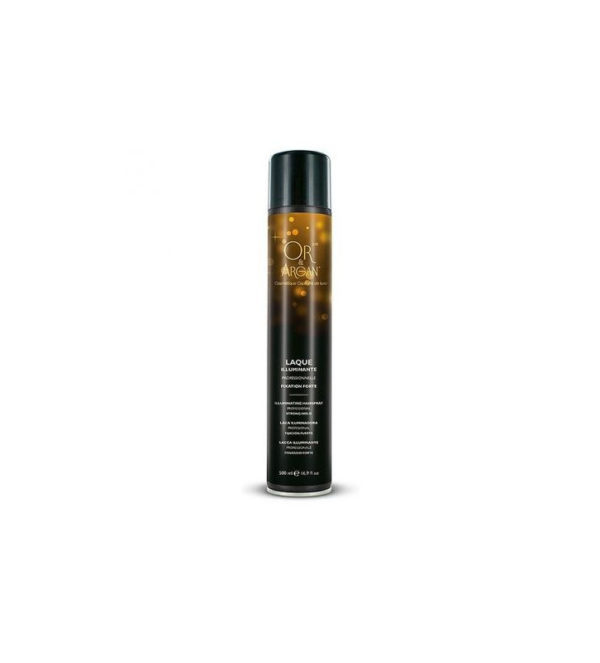 Or & Argan Laque illuminante Fixation forte, 500 ml 2