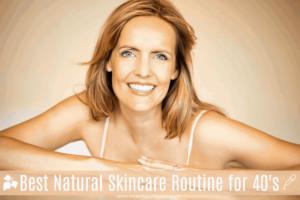Vous voulez que votre peau de 40 ans paraisse une décennie ou deux plus jeune? Essayez cette routine de soins de la peau pour les quarante ans!  