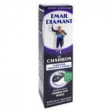 Email Diamant – Le Charbon Dentifrice – Blancheur immédiate & durable – Utilisation quotidienne – 75 ml